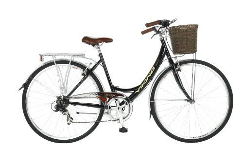 Viking Women's Prelude 7 Speed Traditional Bike - Black, 19 Inch  Price Β£249.99