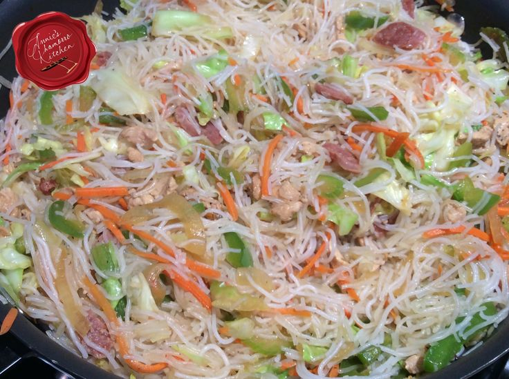 Pancit Bihon is a Filipino dish that Chamorros adopted as their own, fusing ingredients from several cultures as well as using home-grown vegetables. There are many pancit variations. As the name i…