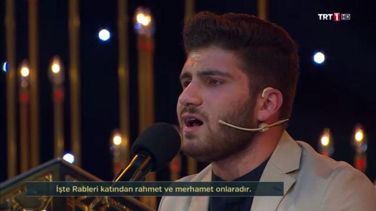 TRT 1 de yayınlanan Kur'an-ı Kerim'i Güzel Okuma Yarışması 6. Bölümü Çarşamba gecesi yine birbirinden güzel seslerle enfes bir Kur'an ziyafeti ile karşımıza geldi. 31..