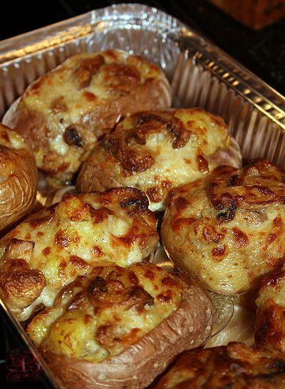 """""""Бухгалтерский учет на кухне и на отдыхе.."""" - фаршированный печеный картофель"""