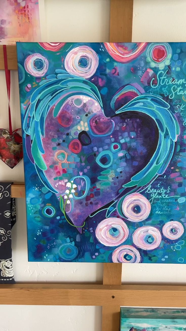 Cute Canvas Paintings, Happy Paintings, Canvas Art, Mural Wall Art, Abstract Wall Art, Heart Sketch, Backdrop Ideas, Skinny Girls, Heart Art