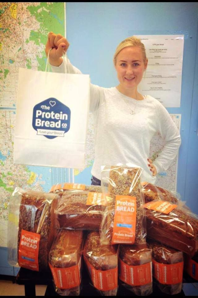 Come visit Anna at Whole Meal Cafe in Darlinghurst and try some of our Protein Bread!