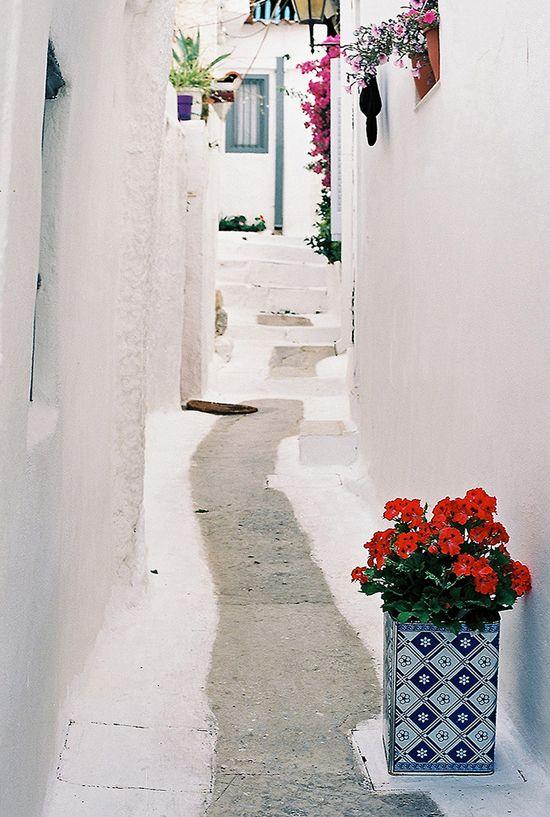 Anafiotika neighbourhood in Athens.