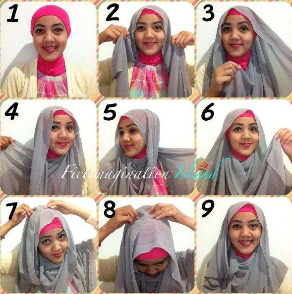 Tutorial Hijab Pashmina Wajah Lonjong Tutorial Lif Co Id