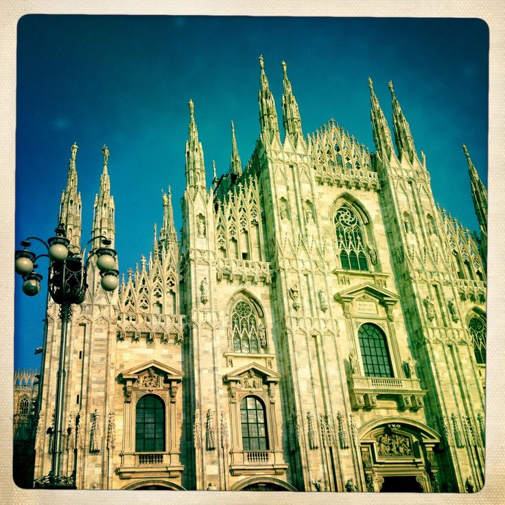 Duomo Cathedral in Milano