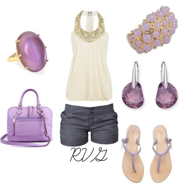 Lavender Fun, created by r-viviane16 on Polyvore: Summer Fashion, Summer Outfit, Clothing Sho, Color, Outfit Bling, Lavender Fun, Fashion Things, Bags, Fashion Personal