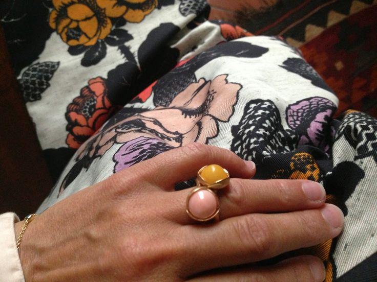 Charlotte Lynggaard Lotus rings