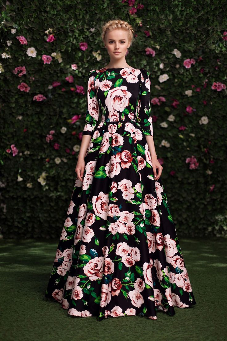 Платье «Алеся» черное — 27 990 рублей