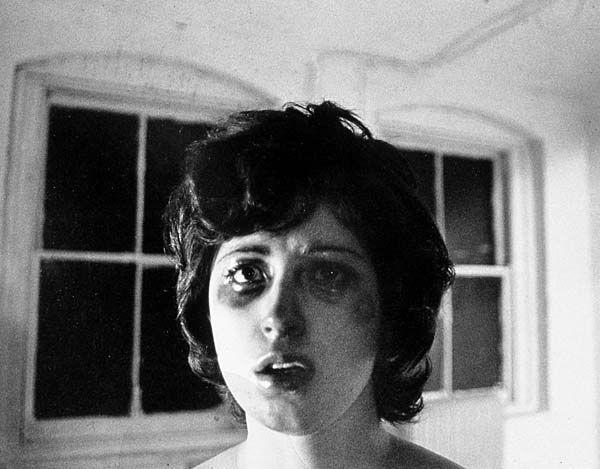 """Cindy Sherman, <em><a href=""""http://www.mmoca.org/mmocacollects/artworks/untitled-film-still-30"""">Untitled (Film Still #30)</a></em>, gelatin silver print, 1979."""