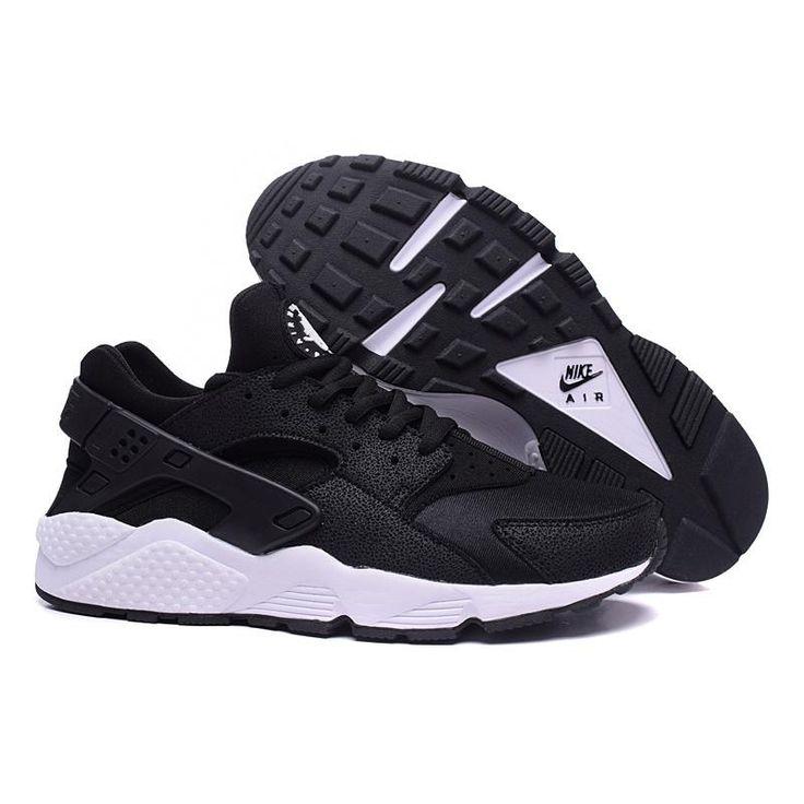 Hombres Mujeres Nike Air 107 Huarache Zapatos Negro 634835 107 Air f4ad26