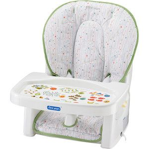 I Like this!   The First Years - Newborn to Toddler -- Reclining Feeding Seat  $31.50 @Walmart.