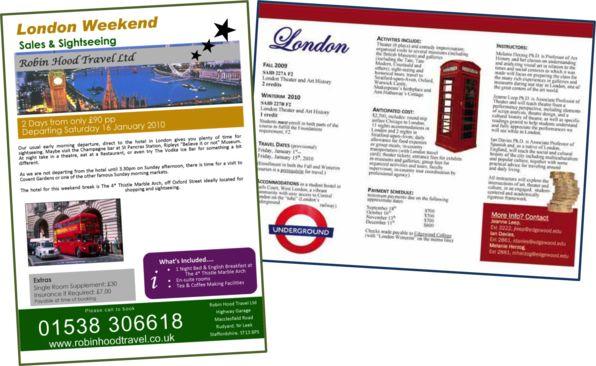London Travel Brochure  London Attractions    Travel