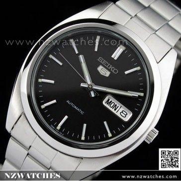 BUY SEIKO 5 Automatic Watch See-thru Back, SNX115, SNX115K Black - Buy Watches Online | SEIKO NZ Watches