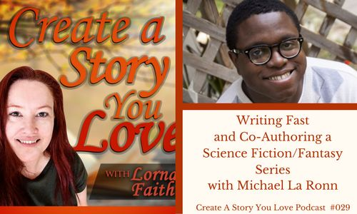 029 Writing Fast and Co-Authoring a Science Fiction or Fantasy Series with Michael La Ronn #CASYLPodcastInterviews #amwritingscifi