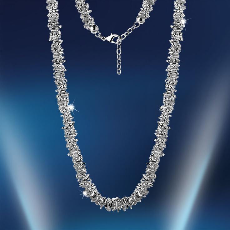 Newbridge Beaded Heart Necklace €55 . www.standun.com