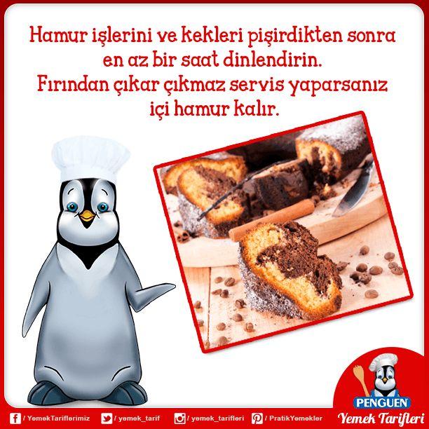 Aşçı Penguenimizin size bir önerisi var. :)