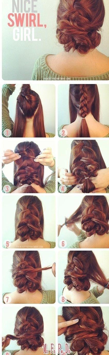 44 best christmas hair images on pinterest long hair braids and messy braid up do kinda up do solutioingenieria Choice Image