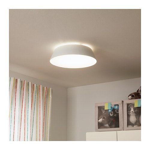 Fubbla Deckenleuchte Led Weiss Ikea Deutschland Deckenlampe