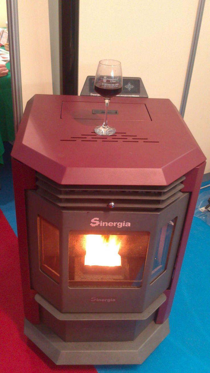 Disfrutando de calor y del buen vino con nuestra estufa de - Estufa de calor ...
