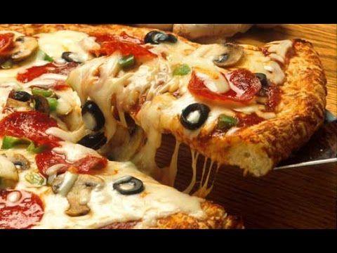 Como Fazer : Massa de Pizza s/ Glúten  & s/Lactose  ( Muito Simples)