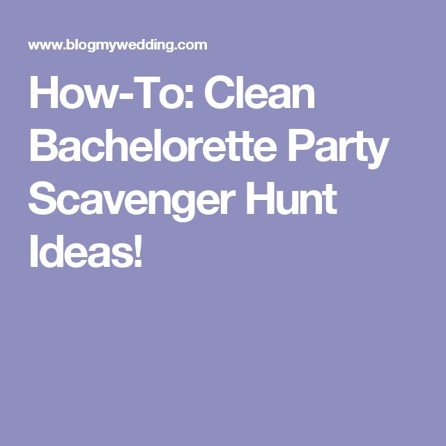 25 Unconventional and Awesome Bachelorette Ideas - Bustle