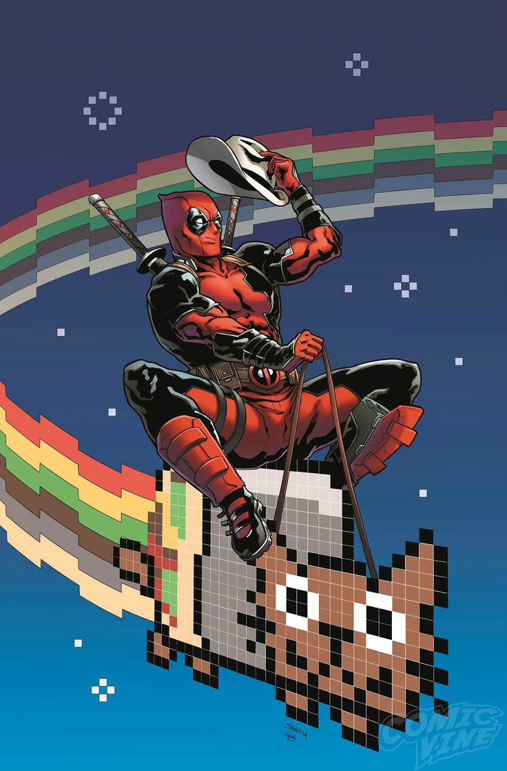Deadpool and Will Sliney take on Nyan Cat.