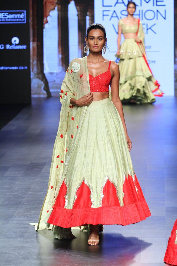 Divya Reddy at Lakmé Fashion Week Summer/Resort 2017