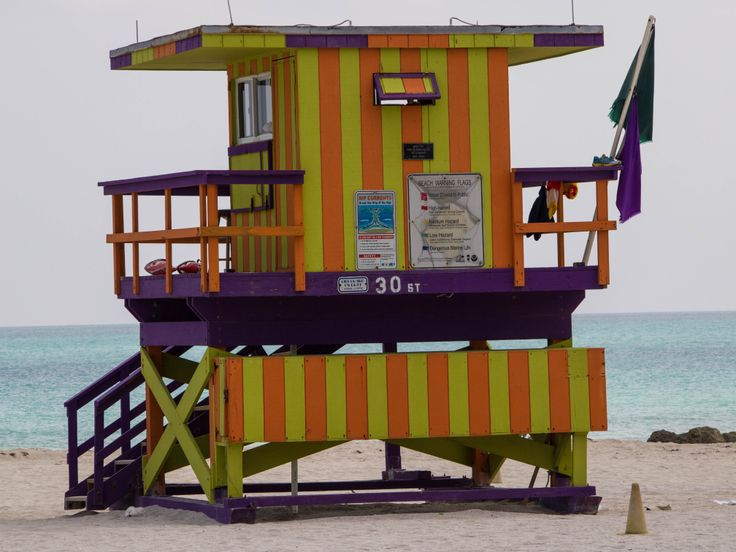Classic Miami - it's all about color!