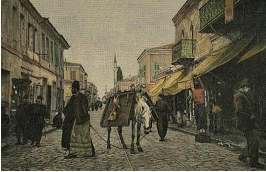Selanik Seyyar Kasap 1910 yılı