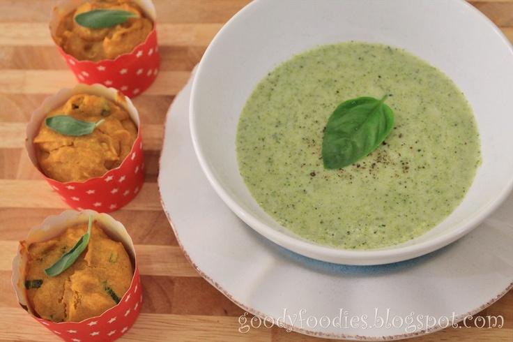 Homemade Broccoli Cream Soup @Martha Stewart