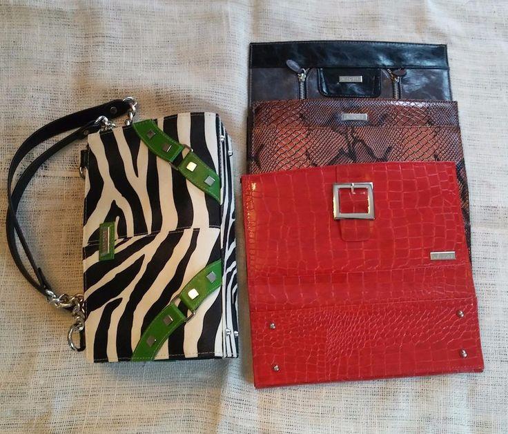 Miche Classic Black Base Handbag with 4 Shells Brittany Ellie Jen Zoe Magnetic #Miche #Classic