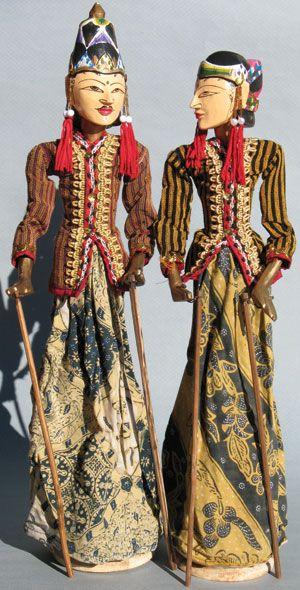 CRIZMAC: Javanese Puppet $32.95