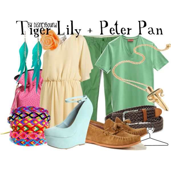 """i love tiger lilys dress!! """"Tiger Lily + Peter Pan"""" by lalakay on Polyvore"""