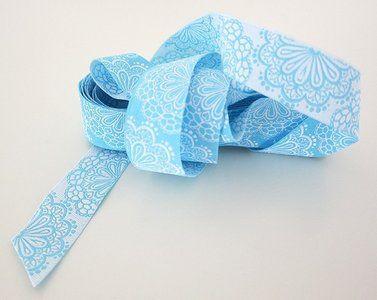 Ribbon Lace Light Blue