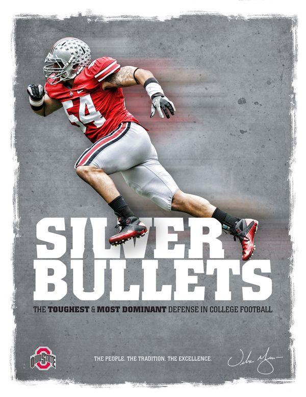 Ohio State Football Recruitment Fliers on Behance