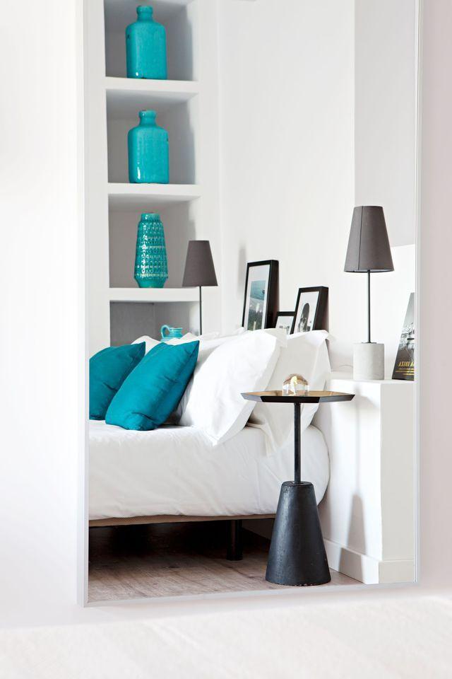 54 best Du blanc dans ma déco ! images on Pinterest Bedrooms