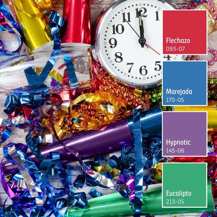 Comienza la cuenta regresiva. ¡No hay nada como iniciar el 2019 con nuevos colores en tu hogar! Crushes, Color Palettes, Drawing Ideas, Houses, Room, Home