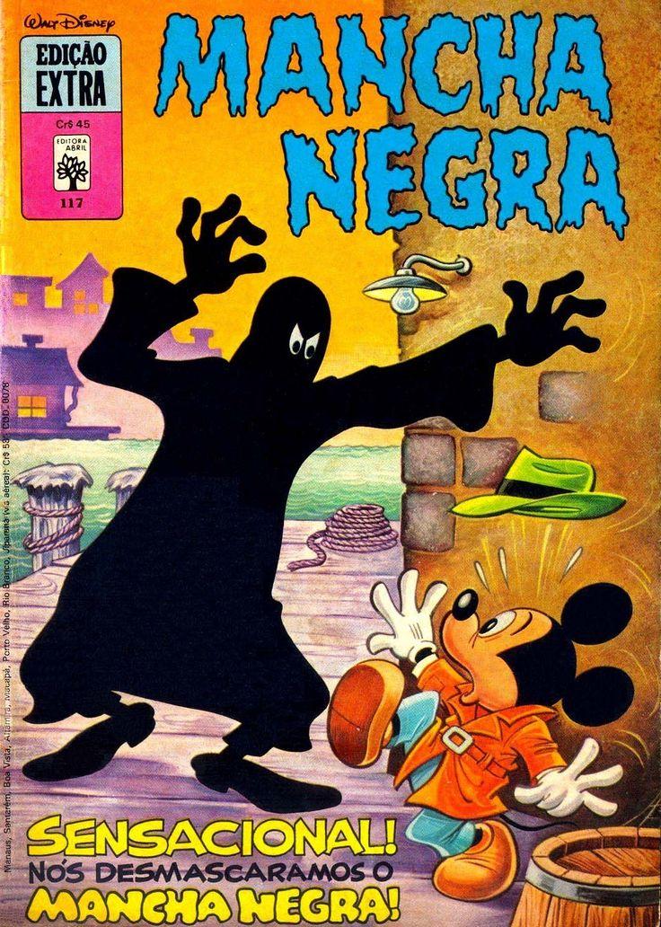 Submundo HQ: Mancha Negra: O Rosto por Trás da Máscara....