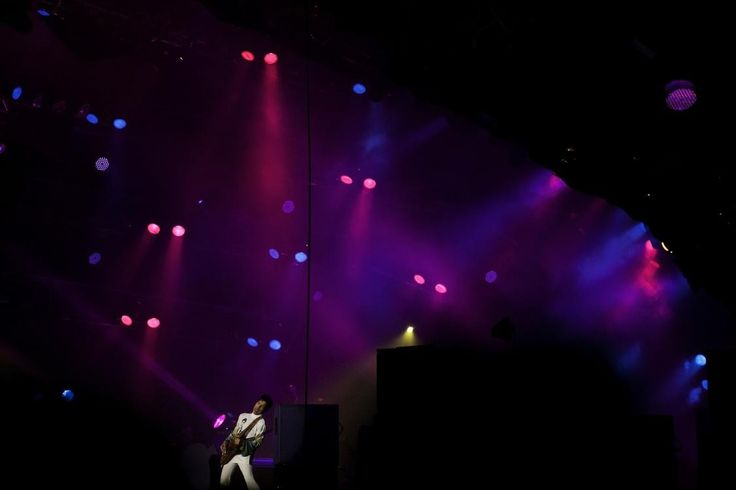 Critics call him the Prince and the God and the King of Denmark  Prince 2010 Roskilde festival
