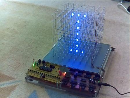 led cube