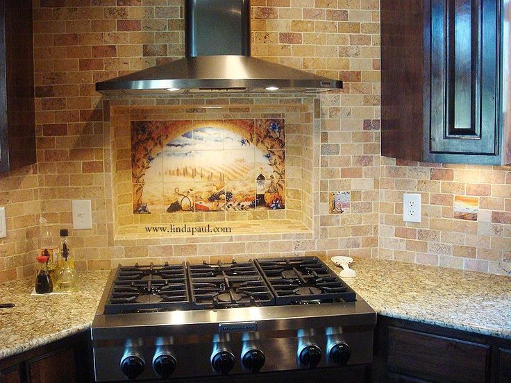 Images Of Bathrooms Using Subway Tile | ... Subway Tile Backsplash Tuscany  Arch Mural Options Buy Subway Tiles | Bathroom | Pinterest | Tile, Tuscany  And ...