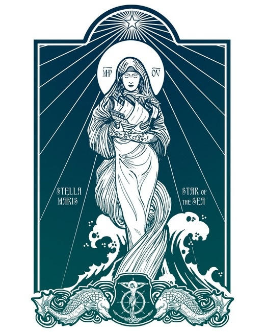 Stella Maris by Lawrence Klimecki. See more of his work at www.gryphonrampant.com