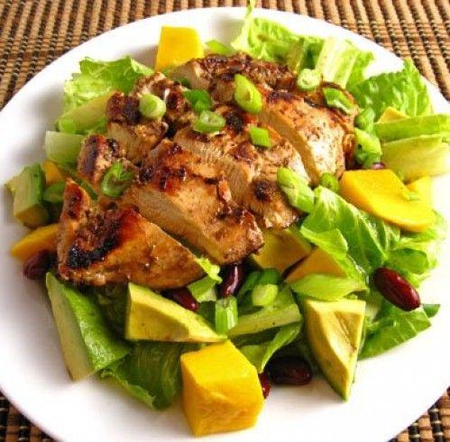 Салат с авокадо и курицей – пошаговый рецепт с фото от Петелинки