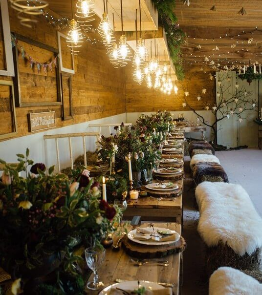 A winter shoot at The Cow Shed wedding venue on the Rame Peninsula in Cornwall. www.thecowshedweddings.co.uk