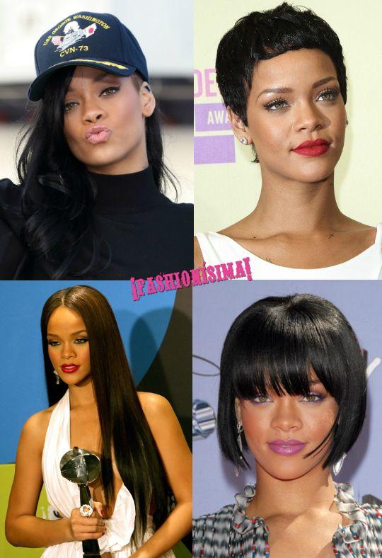 Los 1001 cambios de look de Rihanna