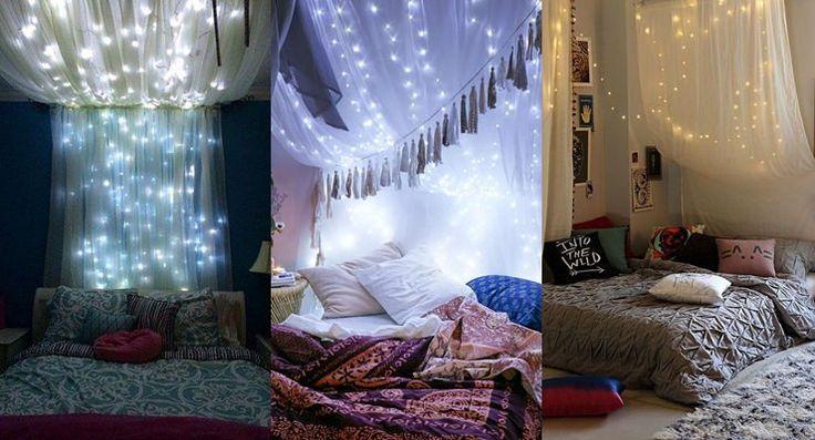 cama com dossel inspiração para casais
