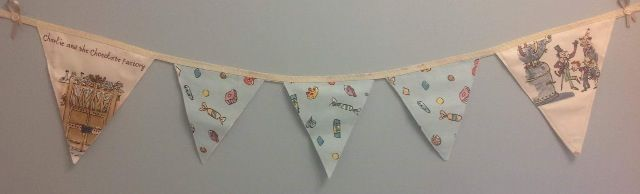 Charlie and the Chocolate Factory Bunting..1m..£10