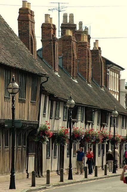 Shakespeare's home in Stratford upon Avon.