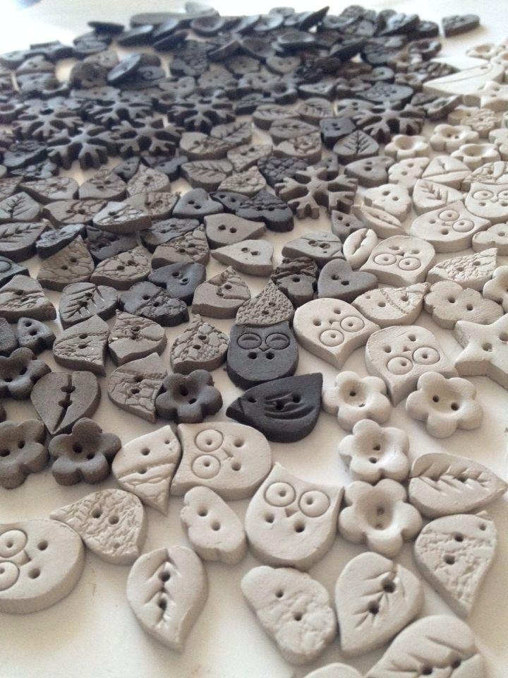 Buttons  Facebook.com/ceramikashe Art-ab.blogspot.com
