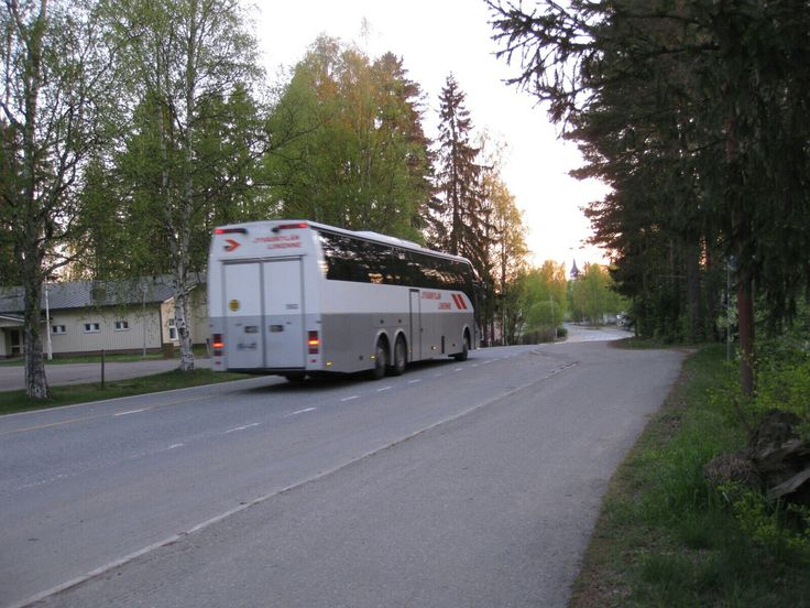 Buss by night. 3:30 o'clock.